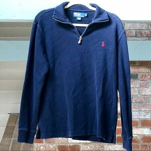 POLO Navy Blue 1/4 Zip
